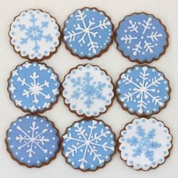 Pierniczki Śnieżynki 9 sztuk